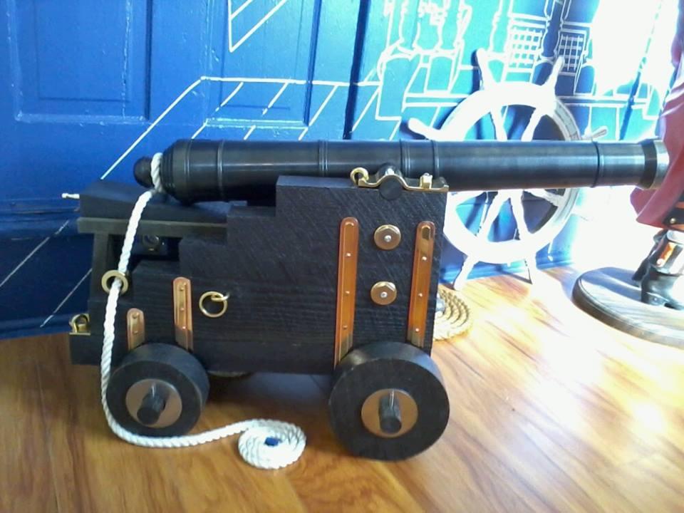 Civil War with a Bang!   - American Civil War Cannons replica